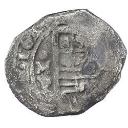 Mexico City, Mexico, cob 4 reales, 1640/39P, ex-Rudman.