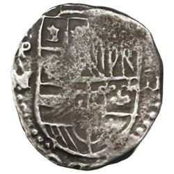 Potosi, Bolivia, cob 2 reales, 1617M, ex-Rudman.