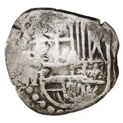 Potosi, Bolivia, cob 2 reales, Philip IV, assayer T (mid-1620s), ex-Rudman.