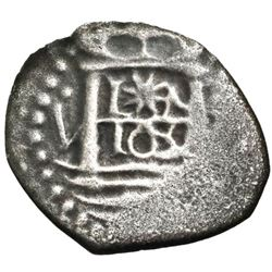 "Lima, Peru, cob 1 real, ""Star of Lima"" type, 1659V."