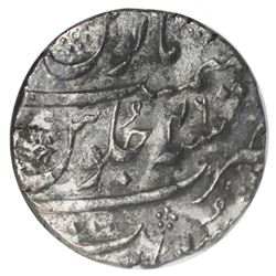 Surat, India (Mughal Empire), rupee, Aurangzeb (1658-1707), AH1113 (1702), ICG VF20 / sea salvage, e