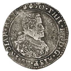 Brabant, Spanish Netherlands (Antwerp mint), portrait ducatoon, Philip IV, 1650.