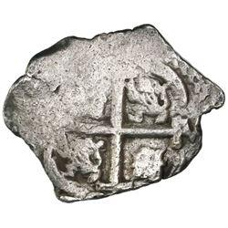 Potosi, Bolivia, cob 2 reales, 1694VR, ex-Jones.
