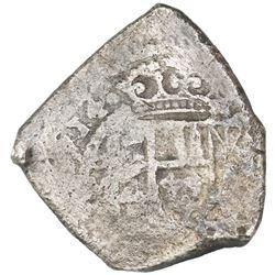 """Mexico City, Mexico, cob 8 reales, 1714J, """"new style."""""""
