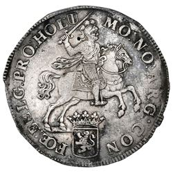 "Holland, United Netherlands, ""rider"" ducatoon, 1734, ex-Jones."