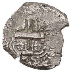 Potosi, Bolivia, cob 4 reales, 1745q, ex-Jones.