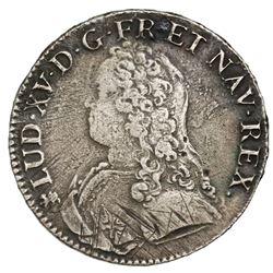 France (Nantes mint), ecu, Louis XV, 1736-T, ex-Jones.
