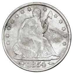 USA (Philadelphia mint), Seated Liberty half dollar, 1854, arrows, NGC SS Republic / Shipwreck Effec