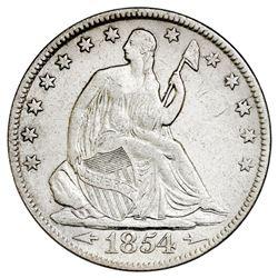 USA (New Orleans mint), Seated Liberty half dollar, 1854-O, arrows, NGC SS Republic / Shipwreck Effe
