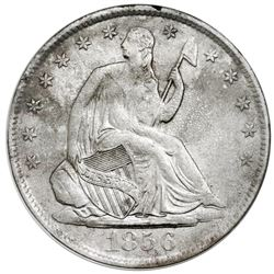 USA (New Orleans mint), Seated Liberty half dollar, 1856-O, NGC SS Republic / Shipwreck Effect.