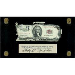 USA, legal tender, $2, series 1953, serial A01286202A, Priest-Humphrey, very rare, ex-Malone.