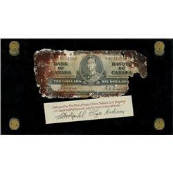Ottawa, Canada, Bank of Canada, $10, 2-1-1937, serial L/T 9234358, Coyne-Towers, very rare, ex-Malon