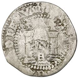 "Mexico City, Mexico, 1/2 real, Charles-Joanna, ""Early Series,"" assayer R (Gothic), very rare, ex-Jon"