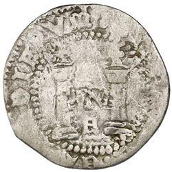 "Mexico City, Mexico, 1/2 real, Charles-Joanna, ""Early Series,"" assayer R (Gothic), very rare, ex-Jon"