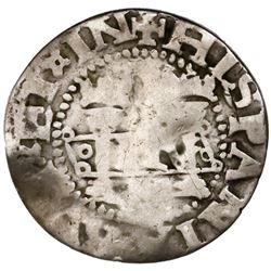 "Mexico City, Mexico, 1/2 real, Charles-Joanna, ""Early Series,"" assayer F/P to right (oMo-oF/Po), ver"
