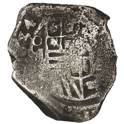 Mexico City, Mexico, cob 8 reales, (1)634, assayer not visible (D, P or P/D), rare, ex-Concepcion (1