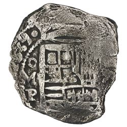 Mexico City, Mexico, cob 8 reales, 1639P, ex-Concepcion (1641), ex-Rudman.