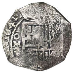 Mexico City, Mexico, cob 8 reales, 1641P, ex-Concepcion (1641), ex-Rudman.