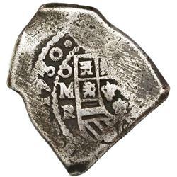 Mexico City, Mexico, cob 8 reales, 1730R, ex-Rudman.