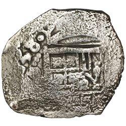 Mexico City, Mexico, cob 4 reales, (1)638/7(P), very rare, ex-Concepcion (1641), ex-Rudman.