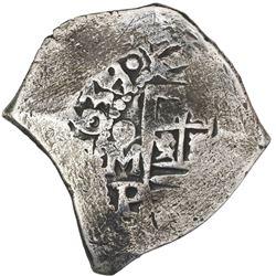 Mexico City, Mexico, cob 4 reales, 1639/8P, very rare, ex-Concepcion (1641), ex-Rudman.