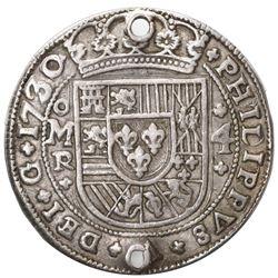 Mexico City, Mexico, cob 4 reales Royal (galano), 1730/28/5R/D, PHILIPPVS/LVDOVICVS, unique, ex-Rudm