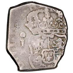 Guatemala, cob 2 reales, 1748J.