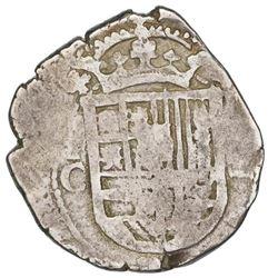 Toledo, Spain, cob 2 reales, 1604C.