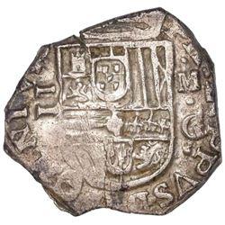 Granada, Spain, cob 2 reales, 160?M, OMNIVM type.