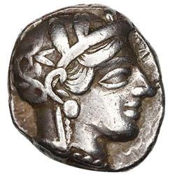 "Attica, Athens, AR tetradrachm ""owl,"" ca. 440-404 BC."