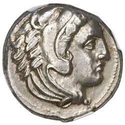 Kingdom of Macedon, AR tetradrachm, Alexander III (the Great), lifetime issue, struck by Antipater,