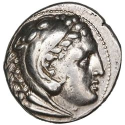 Kingdom of Macedon, AR tetradrachm, Alexander III (the Great), ca. 336-323 BC, in the name and types
