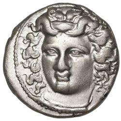 Thessaly, Larissa, AR didrachm, 350-325 BC.