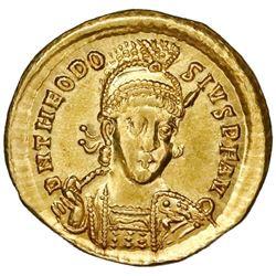 Eastern Roman Empire, AV solidus, Theodosius II, 402-450 AD, Constantinople mint.