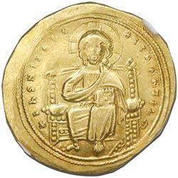 Byzantine Empire, AV histamenon nomisma, Romanus III, 1028-34 AD, Constantinople mint, NGC AU strike