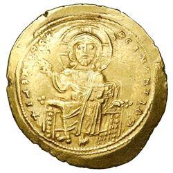 Byzantine Empire, AV histamenon nomisma, Isaac I, 1057-59 AD, Constantinople mint.