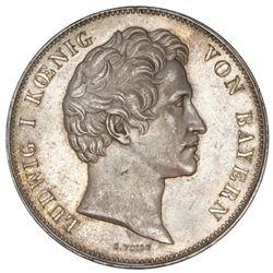 Bavaria (German States), 2 taler, 1840, Ludwig I, Albrecht Durer, NGC AU 58.