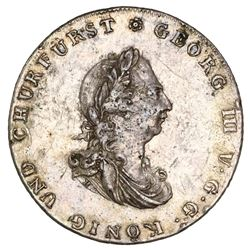 Brunswick-Luneburg-Calenberg-Hannover (German States), taler, George III, 1801-C, very rare, NGC XF