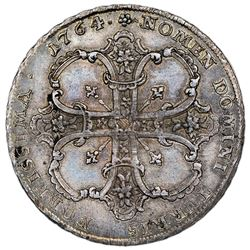 Frankfurt am Main (German States), 1 taler, 1764-IOT, very rare, NGC MS 64, finest known in NGC cens