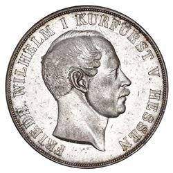 Hesse-Cassel (German States), 2 taler, 1855, Friedrich Wilhelm.