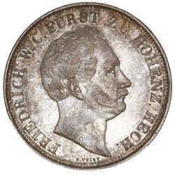 Hohenzollern-Hechingen (German States), 2 gulden, 1846, Friedrich Wilhelm Constantine, NGC AU 55, fi