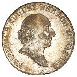 Nassau-Usingen (German States), taler, 1811-L/CT, Friedrich August, NGC MS 63.