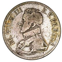 Prussia (German States), taler, 1816-A, Friedrich Wilhelm III.