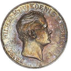 Prussia (German States), 2 taler, 1842-A, Friedrich Wilhelm IV.