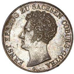 Saxe-Coburg-Gotha (German States), taler, 1841-G, Ernst I.