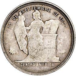 Honduras, 50 centavos, 1910/00, NGC VF 30, very rare.