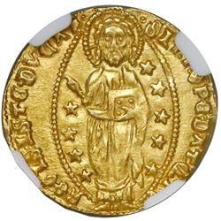 Venice (Italian States), gold ducat, Tomaso Mocenigo (1414-1423), NGC MS 66.