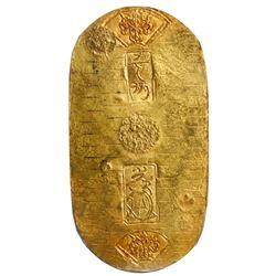 Japan, gold koban (1 ryo), Hoei/Shotoku era (1710-14), PCGS AU58.