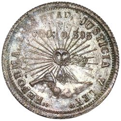 Guerrero, Mexico, 2 pesos, 1914-GRO, NGC MS 63, ex-Jones.