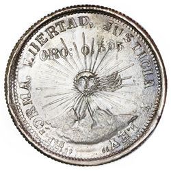 Guerrero, Mexico, 2 pesos, 1915-GRO, NGC UNC details / obv spot removed, ex-Jones.